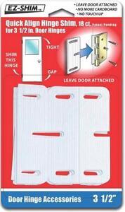 New Ez Shim Hs350bp Quick Align Door Hinge Shims New In