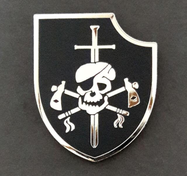 Us Navy Seal Team Six 6 Nswdg Devgru Silver Squadron Insignia Metal