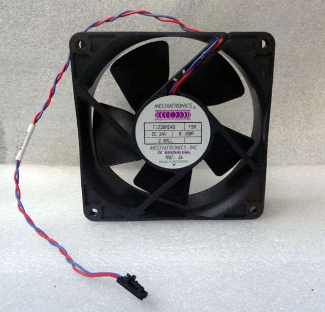 Mechatronics 120mm x 38mm Fan 24V DC 105 CFM 2 Ball 2 Pin Molex 119mm F1238M24B