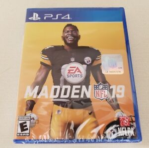 Madden-NFL-19-PlayStation-4-Ps4-Brand-New-factory-sealed