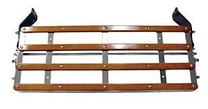 United-Pacific-Chrome-Luggage-Rack-w-Wood-Trim-for-1928-1931-Ford-Model-A-A3101