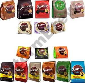 douwe egberts senseo cappuccino choco coffee pods pads. Black Bedroom Furniture Sets. Home Design Ideas