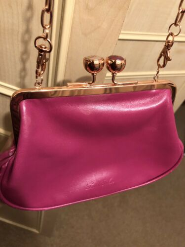 Ted Gold Baker Cross Hot Clutch Pink Rose o Body e Bag rqXraPZnw