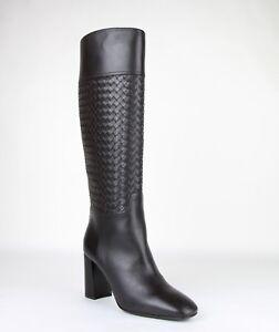 1750-New-Bottega-Veneta-Women-Dark-Brown-Leather-Boot-Heels-389229-2006