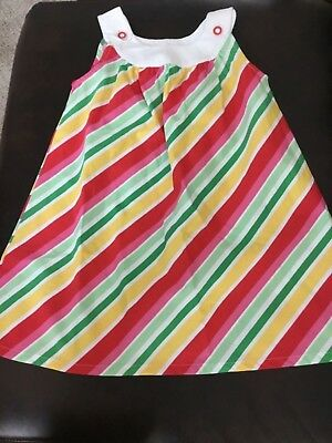 Nwt Gymboree 4t Striped Sundress Pink Green Yellow White New Varieties Are Introduced One After Another Clothing, Shoes & Accessories Baby & Toddler Clothing