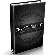 Cryptography Books on DVD Cypher Cipher Code Breaking Steganography Encryption