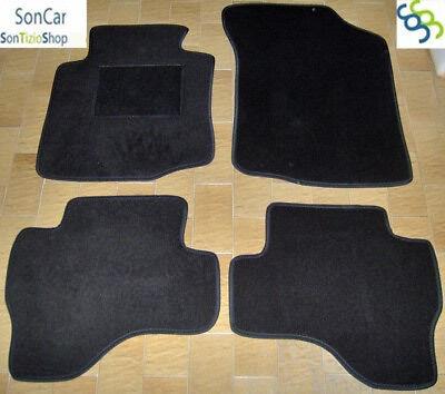 4 block PEUGEOT 107 TAPPETI tappetini AUTO su MISURA