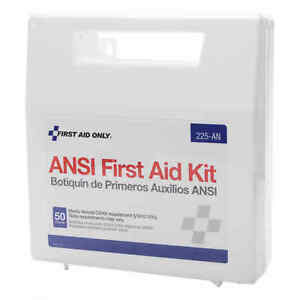 First Aid Only #225 First Aid Kit For Shop Or Office 50 Person