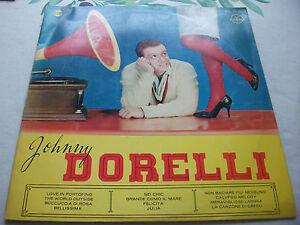 JOHNNY DORELLI RARO LP OMONIMO STAMPA SPAGNOLA ET.GAMMA 1960 - Italia - JOHNNY DORELLI RARO LP OMONIMO STAMPA SPAGNOLA ET.GAMMA 1960 - Italia