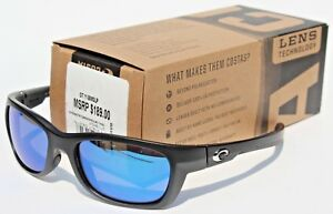Costa del Mar Trevally Polarized Sunglasses Matte Black-Gunmetal//Blue 400G Glass