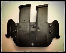 OWB Kydex Double  Magazine Holder – PT111 Millenium Pro / G2  Black