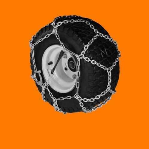 Schneeketten SPURKREUZ für Rasentraktor 16x7.50-8 die echte