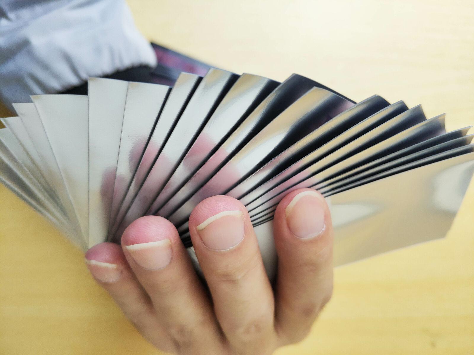 60/PCS Black Lotus Matt Scrub Colorful Backs MTG Cards