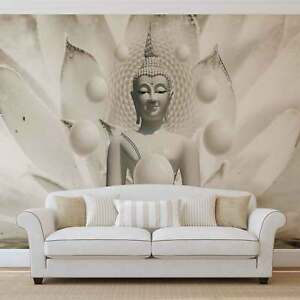 wall mural photo wallpaper xxl buddha zen flowers (3179ws) ebayimage is loading wall mural photo wallpaper xxl buddha zen flowers