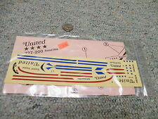 Jet Set decals 1/144 Set JSD-126 Boeing 727-200 United Friend Ship     F50