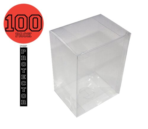 """Funko pop toy protector Clear 4/"""" inch .35mm thickness."""