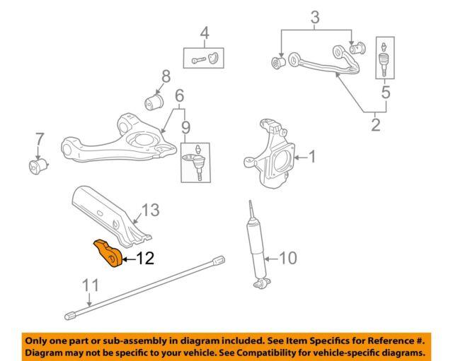 GM OEM Front Suspension-Torsion Arm Adjust Bolt 11570329