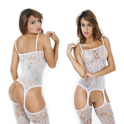 Women Sexy-Lingerie Nightwear Sleepwear Dress Babydoll Lace G-string Underwear
