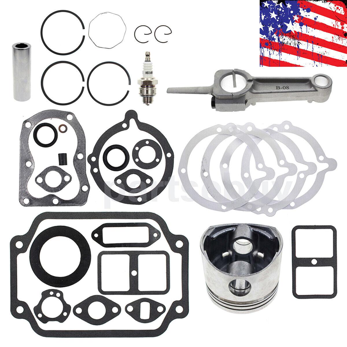Motor reconstruir Kit Para Kohler Standard 8 HP (K181) motores Completo Juego De Juntas