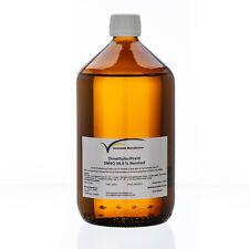 DMSO 1000 ml Dimethylsulfoxid  99,9 %  Reinheit im hydrolytischem Braunglas