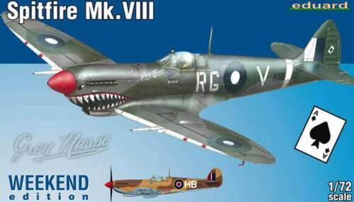 eduard Spitfire Mk.VIII A58-602 Bobby JF330 Gibes Broadhust 1:72 USAF NEU kit