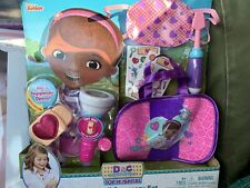 Disney Junior Doc Mcstuffins Toy Hospital On Call Accessory Set 7 Pieces New
