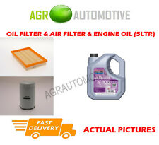 PETROL OIL AIR FILTER KIT + FS 5W30 OIL FOR FORD PUMA 1.7 125 BHP 1997-02