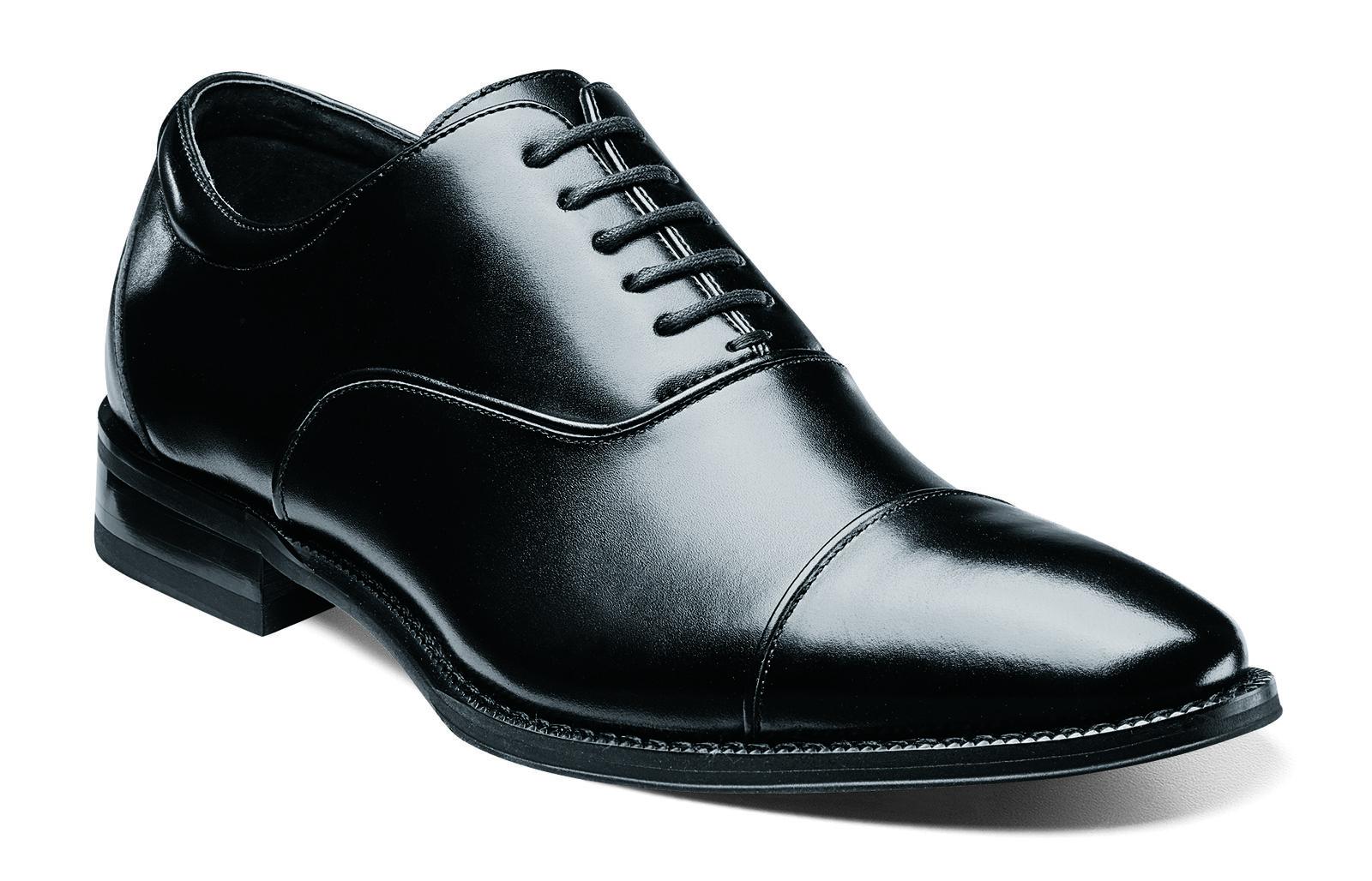 protezione post-vendita Stacy Adams Uomo nero Kordell Kordell Kordell Leather Cap Toe Business Casual Oxford Dress Shoe  alla moda