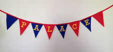 Crystal Palace Football Fabric Bunting Party Bedroom Decoration Christmas Gift