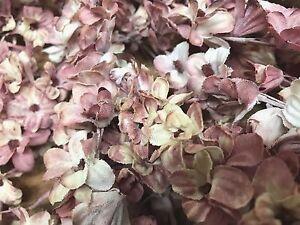 VINTAGE-Mini-LILACS-SILK-1pc-flowers-Stems-JAPAN-Dusty-Pink-Shaded