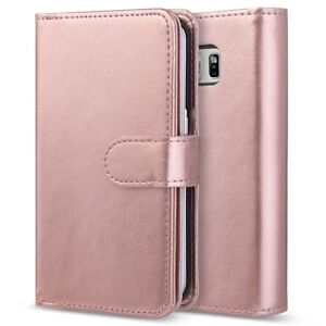size 40 c5b44 46c41 Details about For Huawei P Smart (2018) - Flip Wallet Case Cover in ROSE  GOLD & Ret Pen