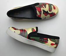 Lote: Geox camotartan diseñado por Yong BAE Seok zapatos talla 2.5 Original Garantizada