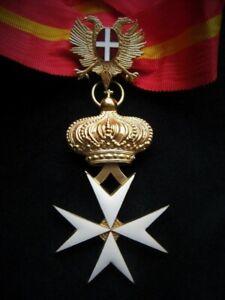 Kommandantenkreuz Souveränen Johanniterorden der Ökumenischen Ritter von Malta.