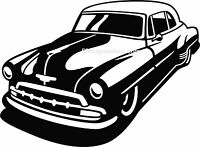 40s 50s Chevy Deluxe Custom Vinyl Decal Your Color Choice Sticker