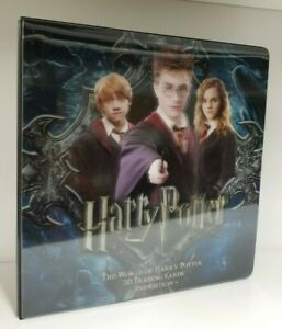 Harry-Potter-The-World-of-Harry-Potter-Second-Edition-3D-Binder-Album-with-Promo
