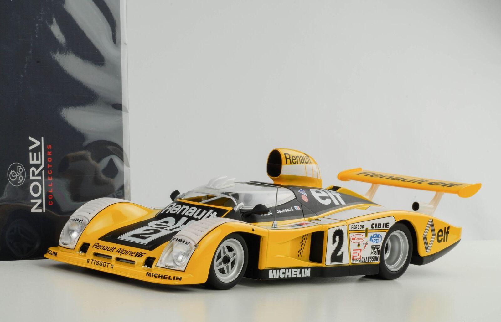 1 18 Renault Alpine A442 24H le Mans Gangant  2 Pironi Jaussaud Onze Norev 1978