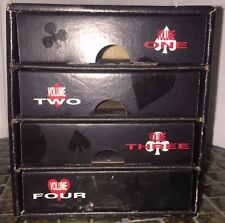 QUEEN ROCKS 20 YEARS TWENTY-YEAR REIGN PROMO Box Set 4 CD Cube Drawers 1991 RARE