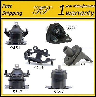 6 PCS MOTOR /& TRANS MOUNT FOR 2004-2006 Acura TL 3.2L Automatic Transmission