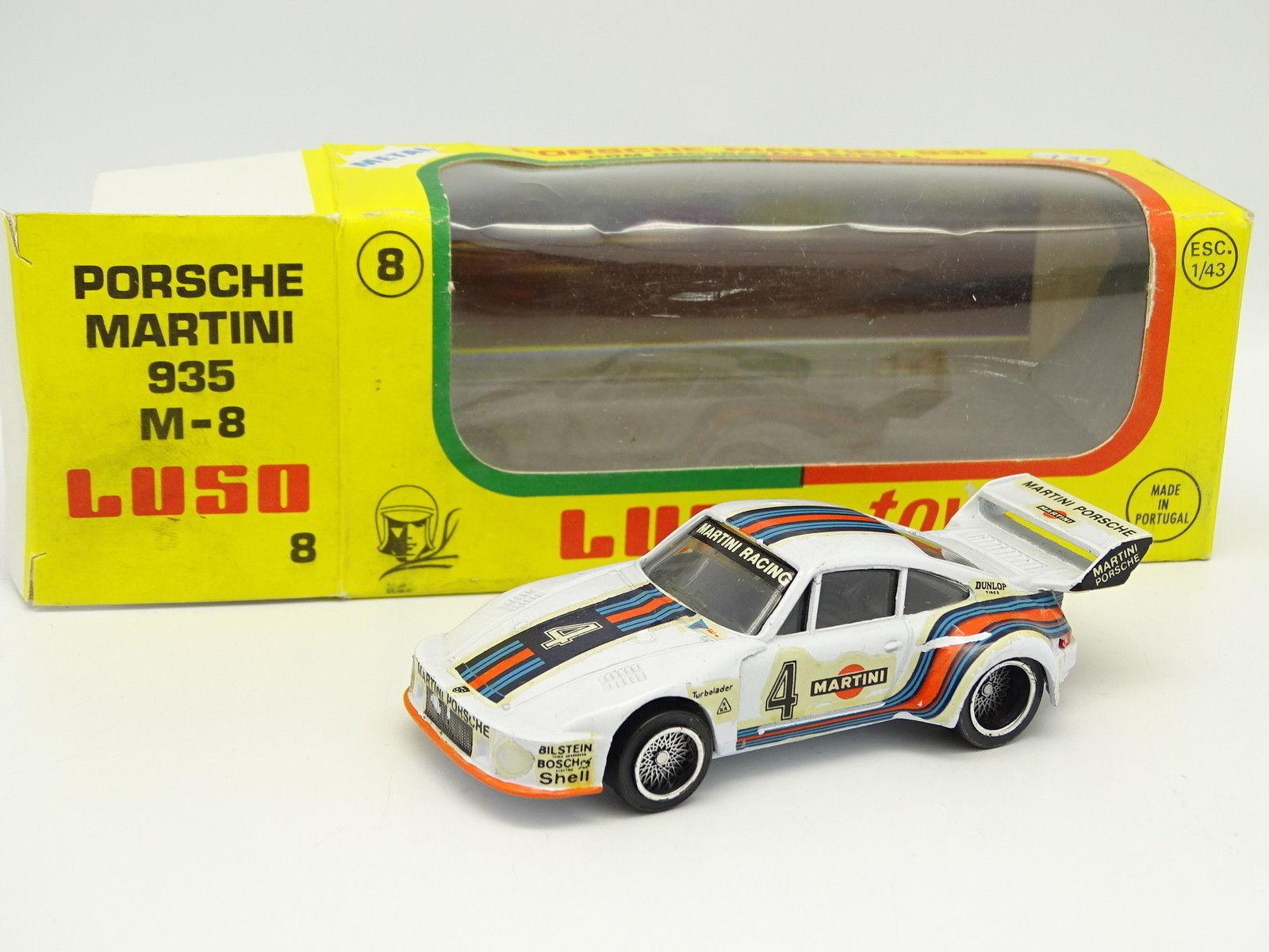 Luso Toys 1 43 - Porsche 911 935 Martini Mugello Mugello Mugello 1976 ec53de