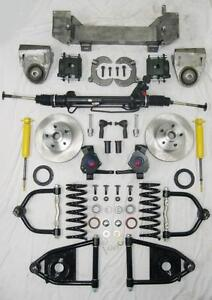 Details about 1949 - 1954 Chevy Mustang II Bolt On Power Front End  Suspension Kit IFS 2