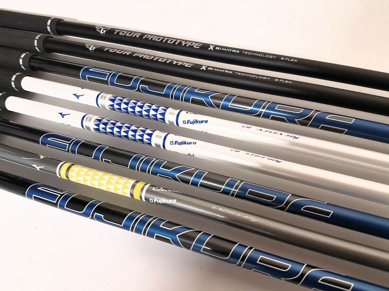 Mizuno Demo Shafts - Driver and 3 Wood Shafts - Various Shafts Available