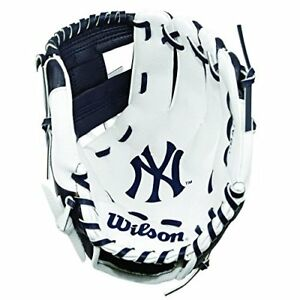 Wilson-childrens-A200-Mlb-Nyy-Team-Gloves-NavyWhite-Size-10