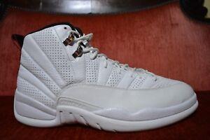 CLEAN Nike Air Jordan 12 XII Rising Sun White Retro 130690 163 White ... 84bc846548