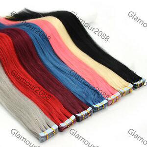 16-034-PU-Seamless-Skin-Tape-in-Remy-Real-Human-Hair-Extensions-Straight-30g-20PCS