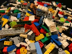 2-POUND-LBS-OF-LEGOS-Bulk-lot-Bricks-parts-pieces-random-pieces