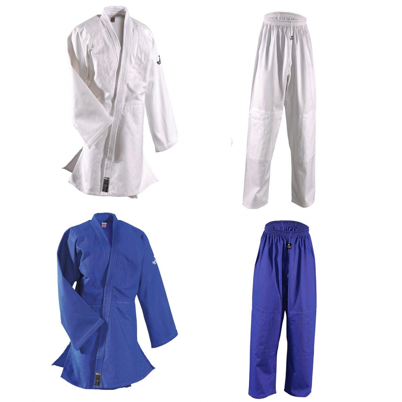 Judoanzug Karate Ju Jutsu Teakwondo DANRHO Judoanzug Randori Profi weiß weiß weiß blau  | Fairer Preis  | Neuheit  5a8607