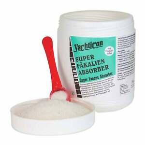 Super Fäkalien Absorber 750g, Granulat Bindemittel, Kotzpulver, Geruchsabsorber