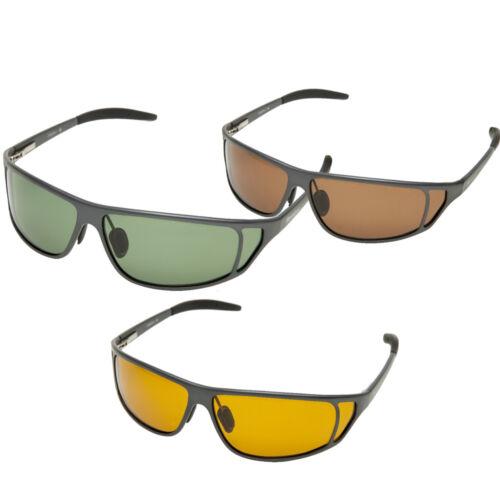 18004-1 Snowbee Magnalite Sunglasses Smoke Green