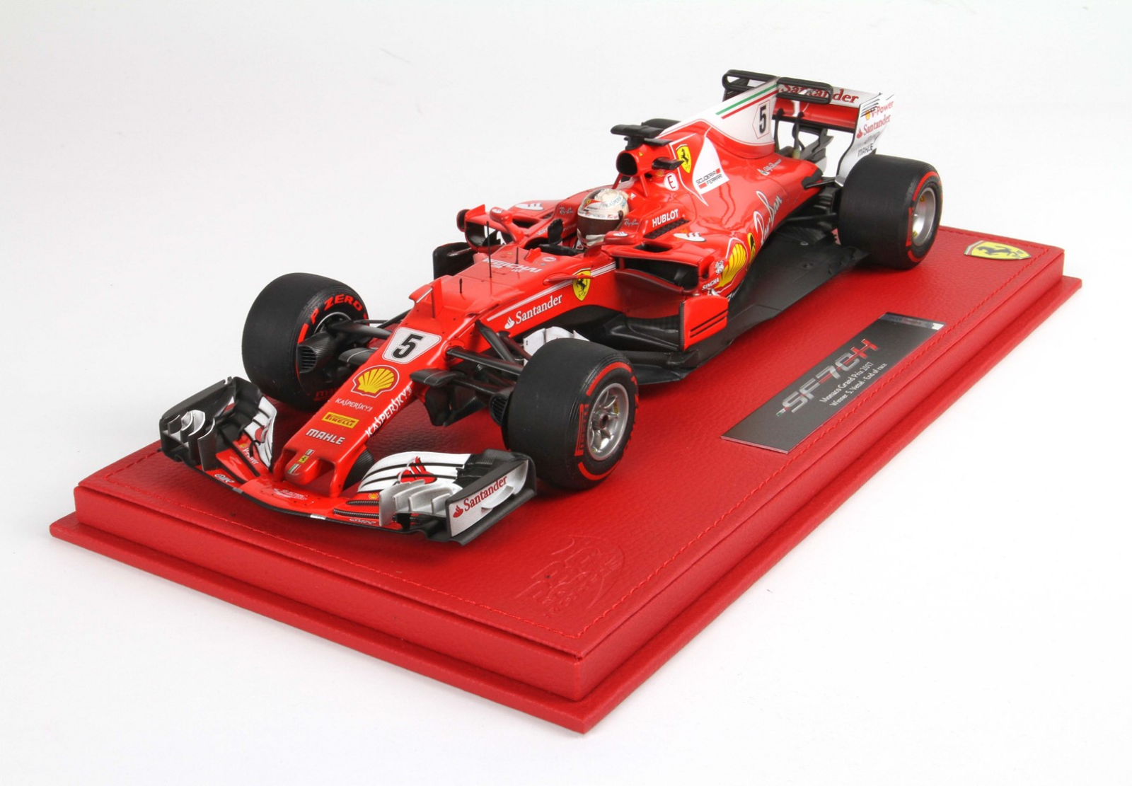 BBR 2017 Ferrari SF70-H 1:18  5 Sebatian Vettel end of race LE 50 pcs