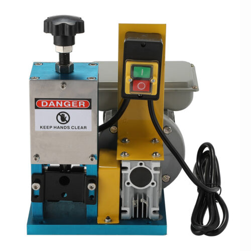 180W Kabelschälmaschine 25mm Kabel Abisoliermaschine Solidem Peeling Stahlblech